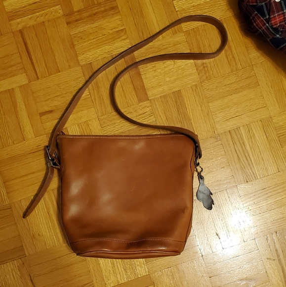 Roots Handbags - Vintage Roots Leather Bag